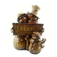 New Design Christmas decoration wholesale resin snowman