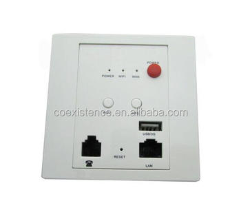wall embedded wifi access point inwall wifi router with poe wps function