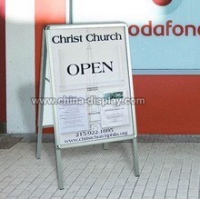 Standing Poster Board Pavement Signs for Promotion
