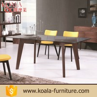 Cheap Solid wood used dinner restaurant banquet table