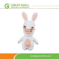 Crazy Rabbit Plush Pet Dog Toy