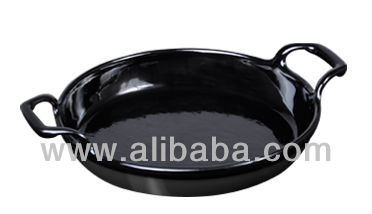 Round Roasting Dish with two handles 12-16 cm