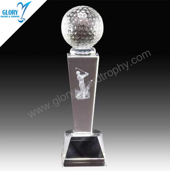 Golf Crystal Ideas For Awards For Golf