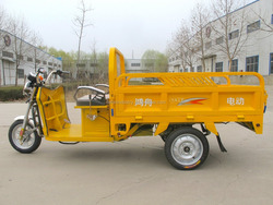 Easy operate electric tricycle for adult made in china