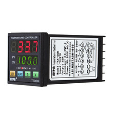 Digital LED PID Thermometer Heat Cooling Control Temperature Controller thermostat RNR 1 Alarm Relay Output TC/RTD thermostat