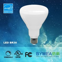 60W Equivalent 2700K estar br30 br40 dimmable led Light Bulb