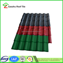 2.5mm fireproof pvc roof spanish tile price for roof shade