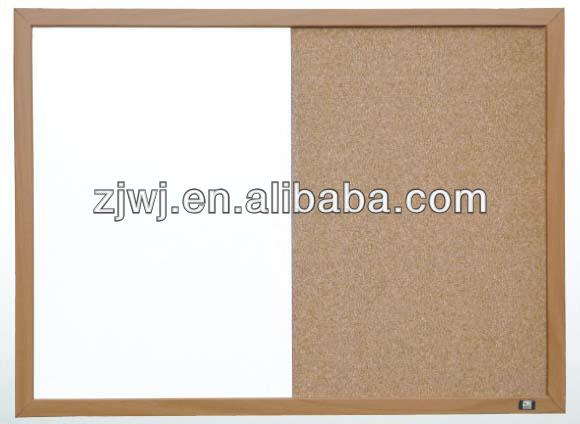 Combi cork and writing white board for office