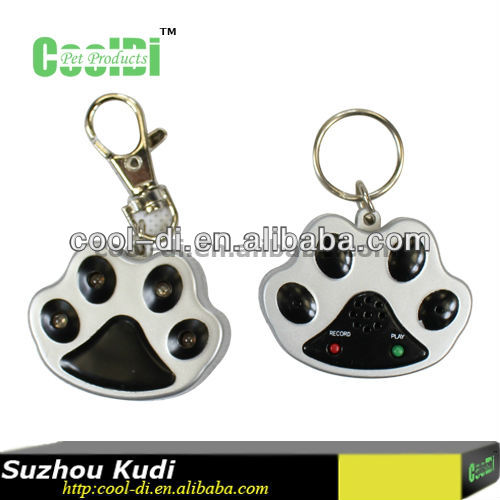 lovely lighting dog tags with led