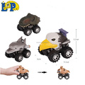 Animal Empire Hand-painted Friction Animal toy car with animal head