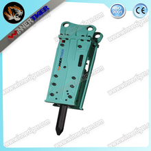 top side hydraulic breaker hammer for mini excavator