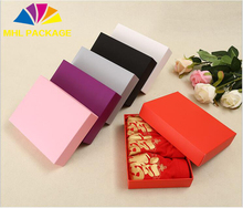 logo print foldable creative paper underware packaging box