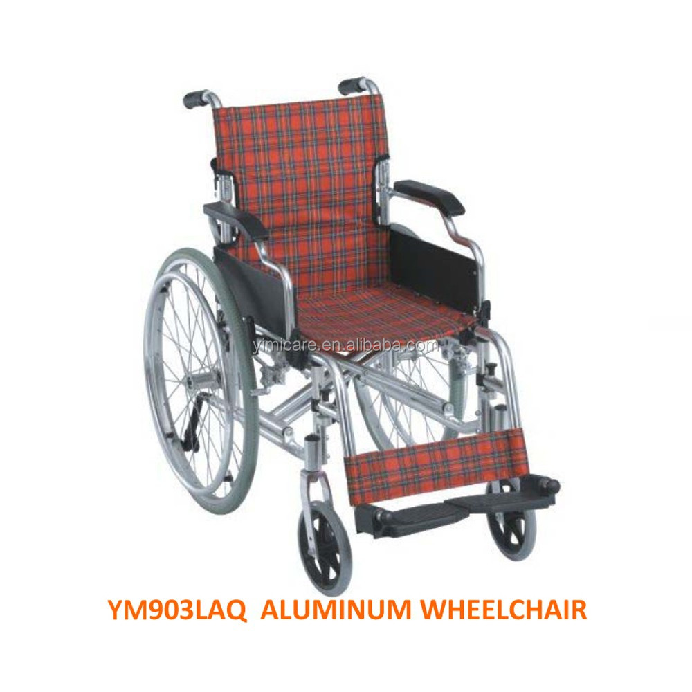 "Made in china manual 24"" rear hot sale price of wheel chair"