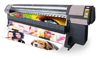 factory price customer made wide format printer SS-3302-G5N 2 Ricoh Gen5 Printheads