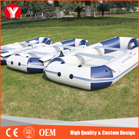 pvc customize inflatable boat for water games