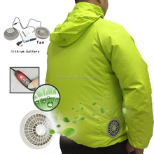 New Style Worker Industrial Windproof Quick Dry Custom Logo Cooling Fan Clothes
