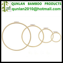 3''-12'' Bamboo Material Embroidery Hoops Wholesale