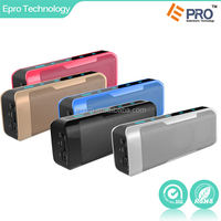 Hot selling 4000mah battery capacity power bank bluetooth speaker for mobile phone and tablet pc