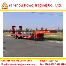 widely used lowbed semi trailer/lowboy semi trailer/low bed truck semi trailer