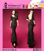 High Quality Europe Style Sexy Party Dress Custom Lowest Price Backless Fishtail Evening Dress