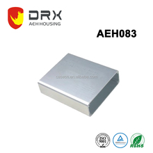 high quality extruded aluminum industrial enclosure rack case W84*H28mm