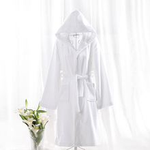 Cheap Wholesale Terry Children Bathrobe White Kids Spa Bathrobe