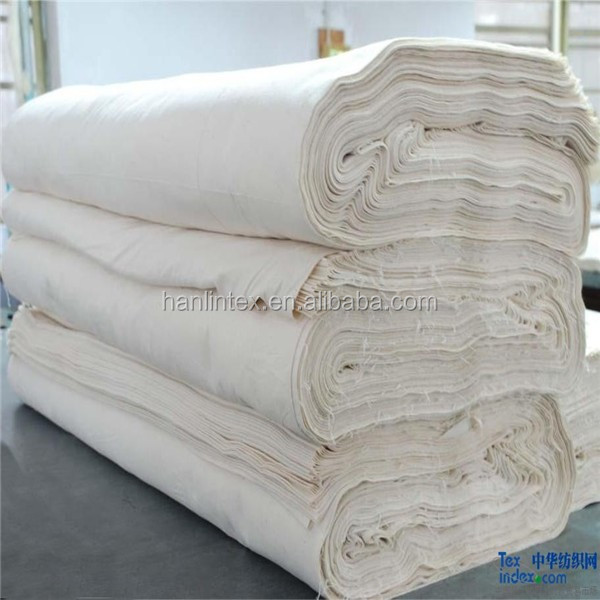 Best Quality New Design Canvas 100% Cotton Grey Fabric