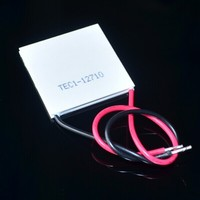 Wholesale-New 100W TEC1-12710 DC12V 10A Thermoelectric Cooler Peltier 40*40*3.6MM Best prices TEC1 12710