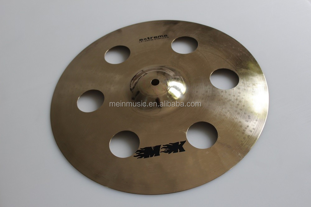 "pearl cymbals promotion 14"" stacker cymbals for sale"