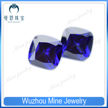 Top Quality Fertilizer square purple tanzanite cubic zirconia