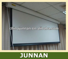 Wall Mounted Motorized Projector Screen / Electric Projector Screen / Automatic Projector Screen