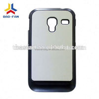 Sublimation phone case with alu sheet for Samsung 7500