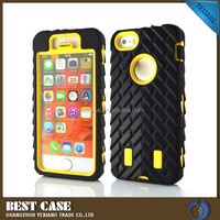 oem customized tablet full protector hard shell case for iphone5c
