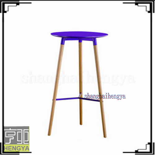 Long narrow stand up bar table