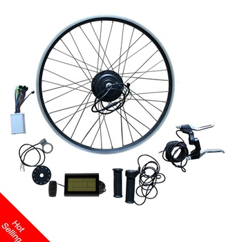 Europe Front or rear 36v 250w 350w geared hub wheel motor electric  bicycle kit with ce approved