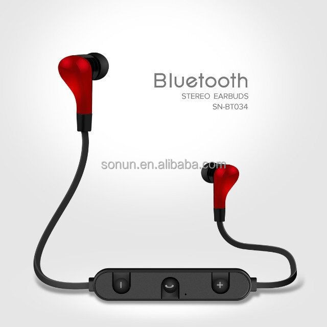 new fashion sport stereo sound bluetooth earphone used mobile phones