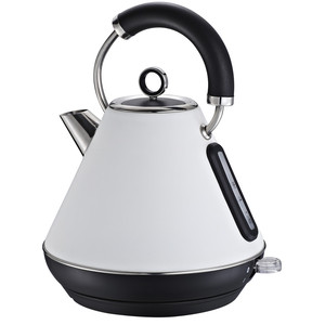 1.7L Stainless Steel Cordless Electric Kettle, Cream