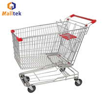 CE Customized Galvanized Shopping Trolley