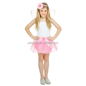 hot selling excellent quality anime cosplay fairy wings party halloween costumes for kids