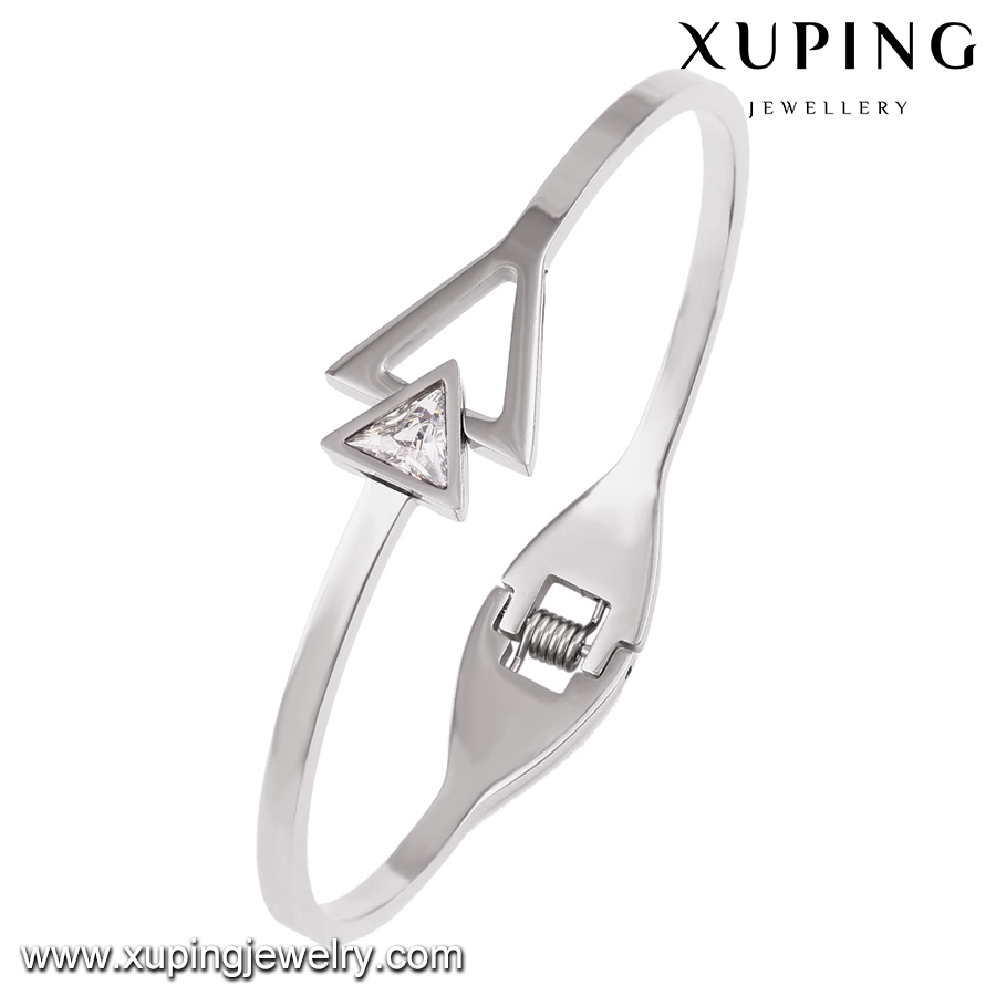 51524 Xuping European style bangle openable design Stainless Steel Jewelry