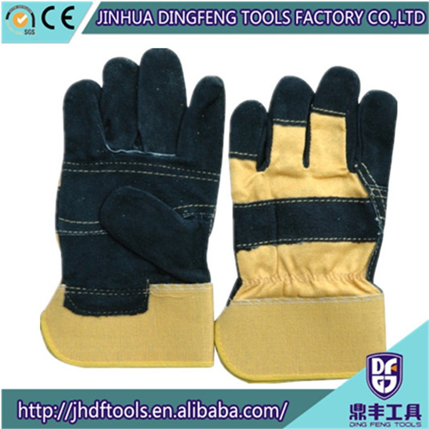 High quality cheap price cow split leather glovers from manufacturers from China