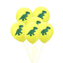 <strong>12</strong> '' latex balloon unique dinosaur theme Jurassic Birthday Party Decorations Supplies Dinosaur Latex Balloons