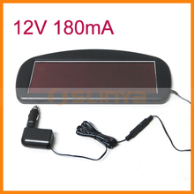 12V 180mA Multifuction Solar Battery Car Charger
