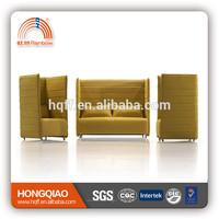 Plastic corner sofas seating unit made in China