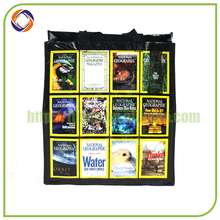 reasonable price promotional clear print shopping bag
