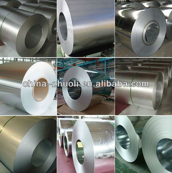 Hot-dip 55% Zinc-Aluminium non- alloy coated steel coil