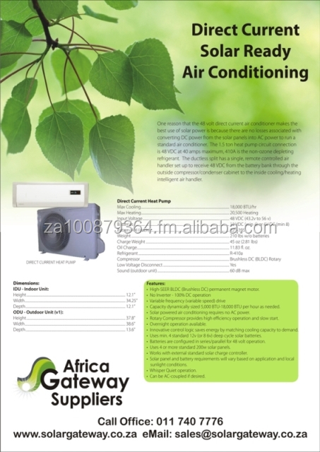 Solar Airconditioners