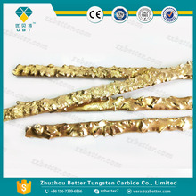 Tungsten caride electrode for cleaning