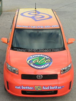 Custom Printed Car Wrap Stickers