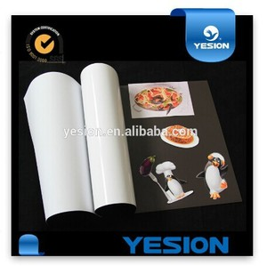 Yesion China Manufature ! Inkjet Magnetic Matte Coated Photo Paper, Cast Coated Inkjet Glossy/Magnetic/Self-Adhesive Photo Paper